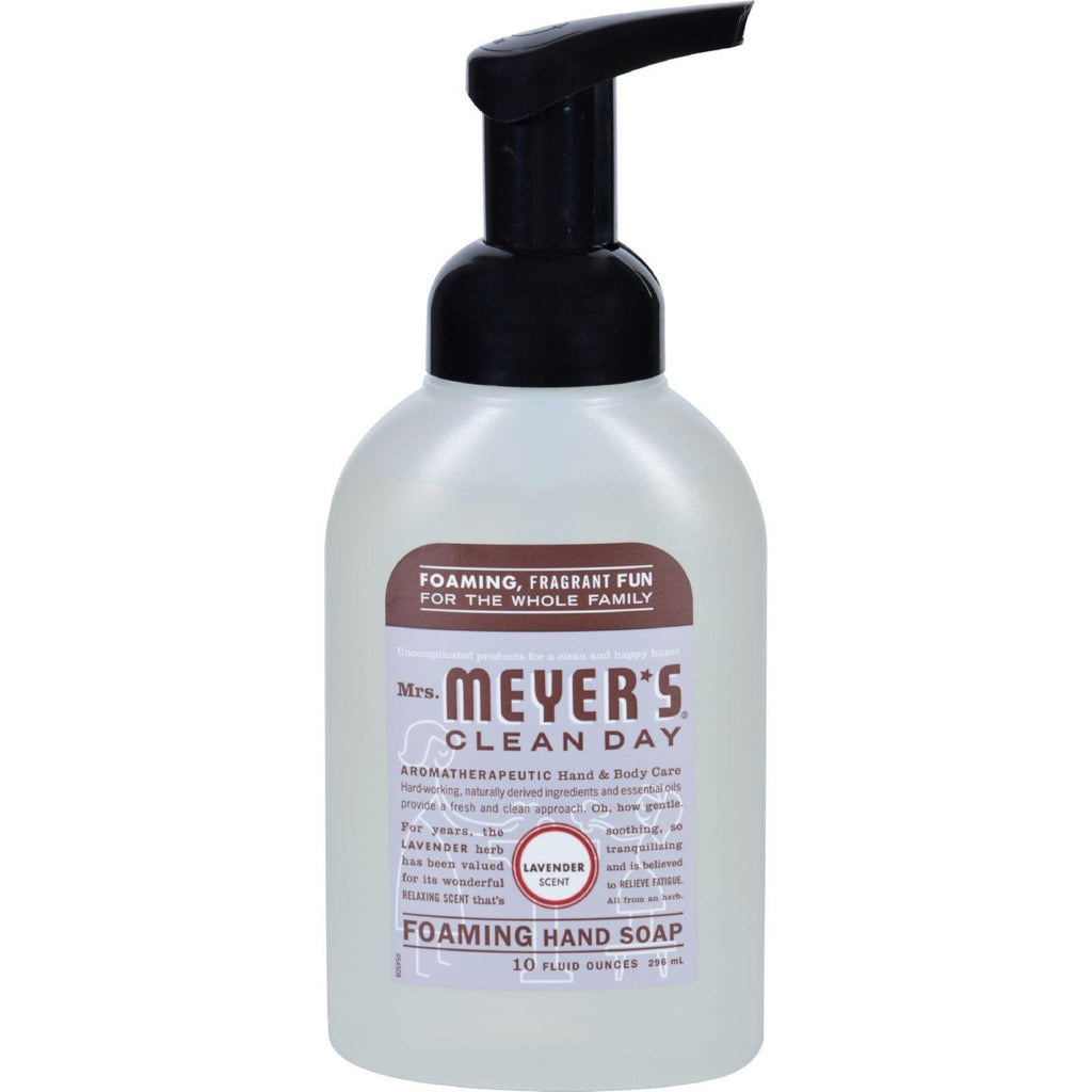 Mrs. Meyer's Clean Day Foaming Hand Soap Lavender - 10 fl oz-Mrs. Meyer's-pantryperks