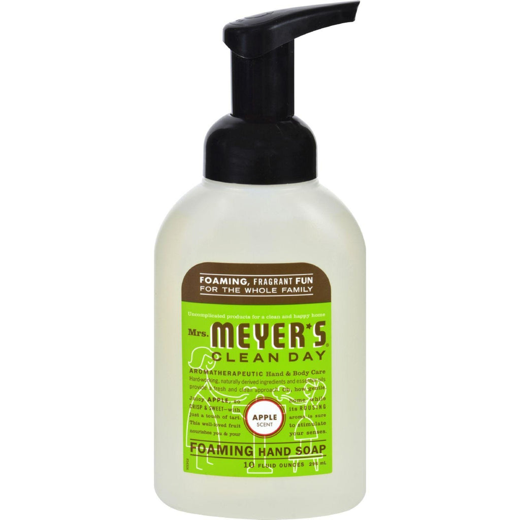 Mrs. Meyer's Clean Day Foaming Hand Soap Apple - 10 fl oz-Mrs. Meyer's-pantryperks