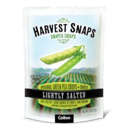 Calbea Harvest Snaps Lightly Salted Snapea Crisps - Snack Pack - .75 Oz - Case Of 36-Calbee Snapea Crisp-pantryperks