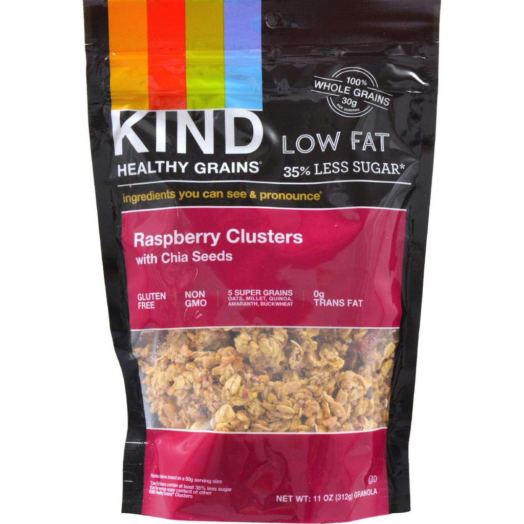 KIND Healthy Grains Healthy Grains Clusters - Raspberry with Chia Seeds - 11 Ounce-Kind-pantryperks