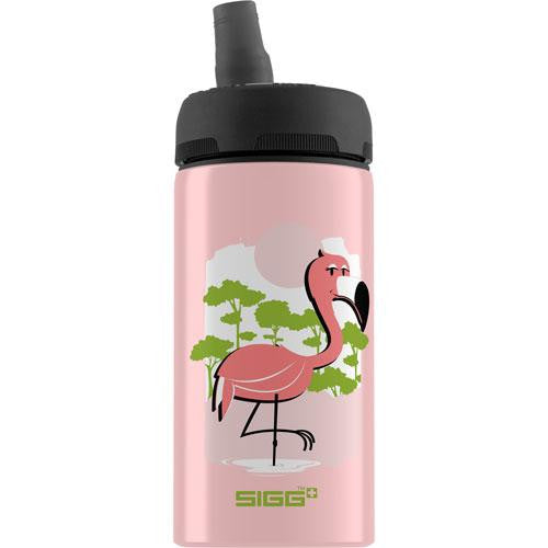 Sigg Water Bottle - Cuipo Born Pink Live Green - .4 Liters - Case Of 6-Sigg-pantryperks