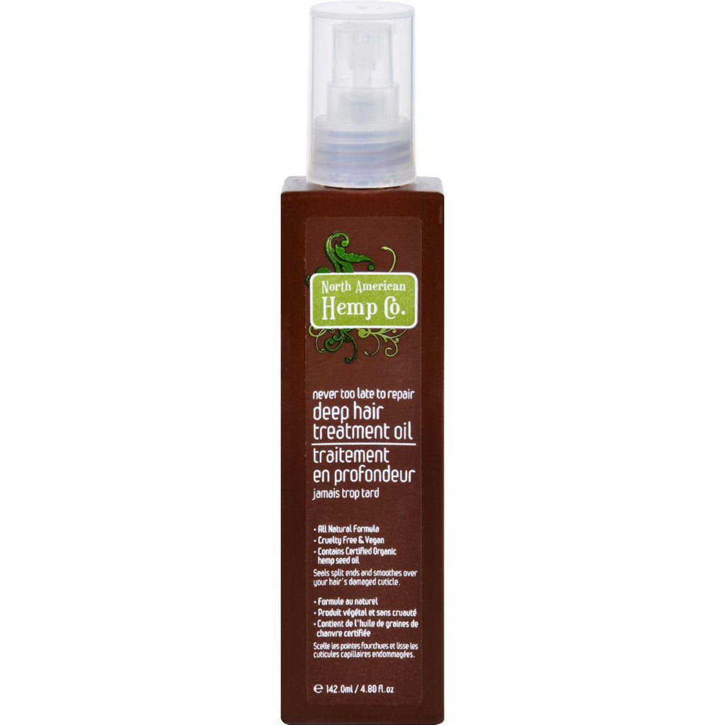 North American Hemp Company Deep Hair Treatment Oil - 4.8 Fl Oz-North American Hemp Company-pantryperks