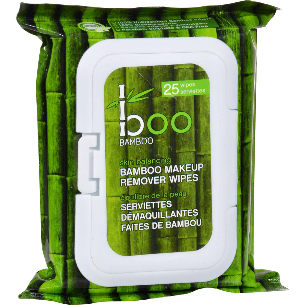 Boo Bamboo Makeup Remover Wipes - 25 Count-Boo Bamboo-pantryperks
