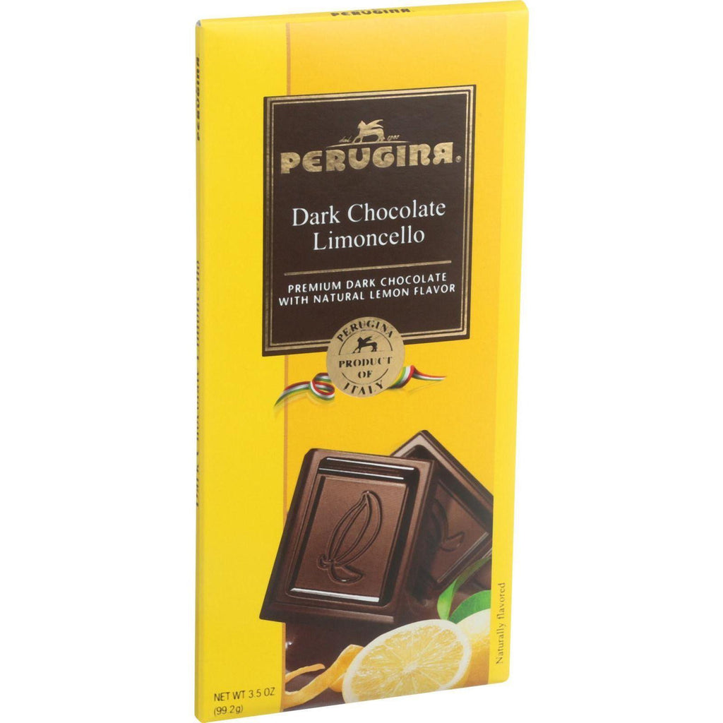 Perugina Chocolate Bar - Dark Chocolate - Limoncello - 3.5 Oz Bars - Case Of 12-Perugina-pantryperks