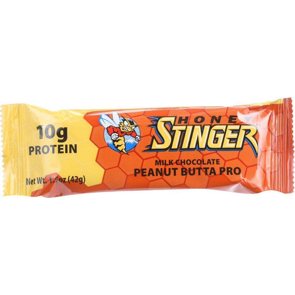Honey Stinger Bar - Protein - Peanut Butta - 1.5 Oz - Case Of 15-Honey Stinger-pantryperks
