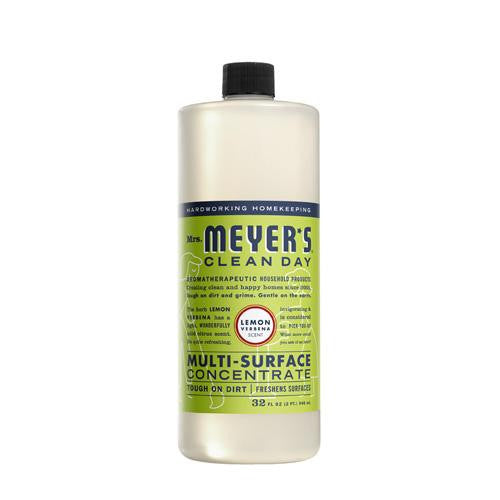 Mrs. Meyer's Multi Surface Concentrate - Lemon Verbena - 32 Fl Oz-Mrs. Meyer's-pantryperks