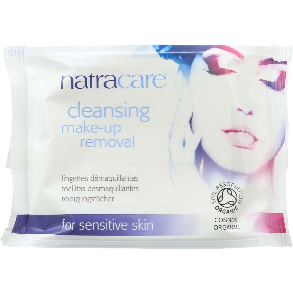 Natracare Make-up Removal Wipes - Cleansing - 20 Count-Natracare-pantryperks