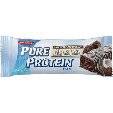 Pure Protein Bar - Dark Chocolate Coconut - 50 Grams - 1 Case-Pure Protein-pantryperks