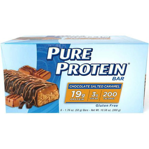 Pure Protein Bar - Chocolate Salted Caramel - 50 Grams - 1 Case-Pure Protein-pantryperks
