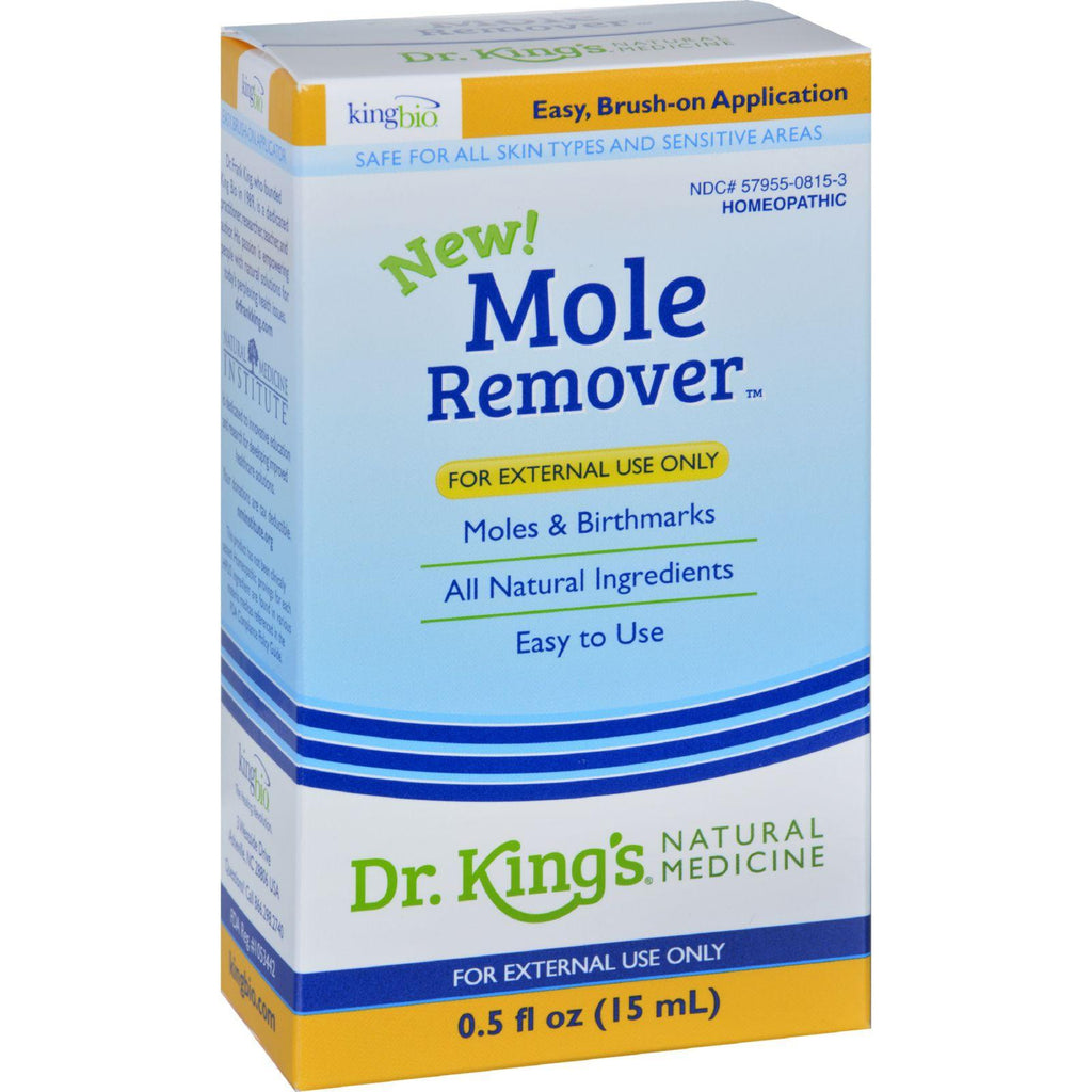 King Bio Homeopathic Mole Remover - .5 Oz-King Bio Homeopathic-pantryperks