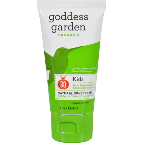 Goddess Garden Sunscreen - Natural - Kids - Spf 30 - 1 Oz-Goddess Garden-pantryperks