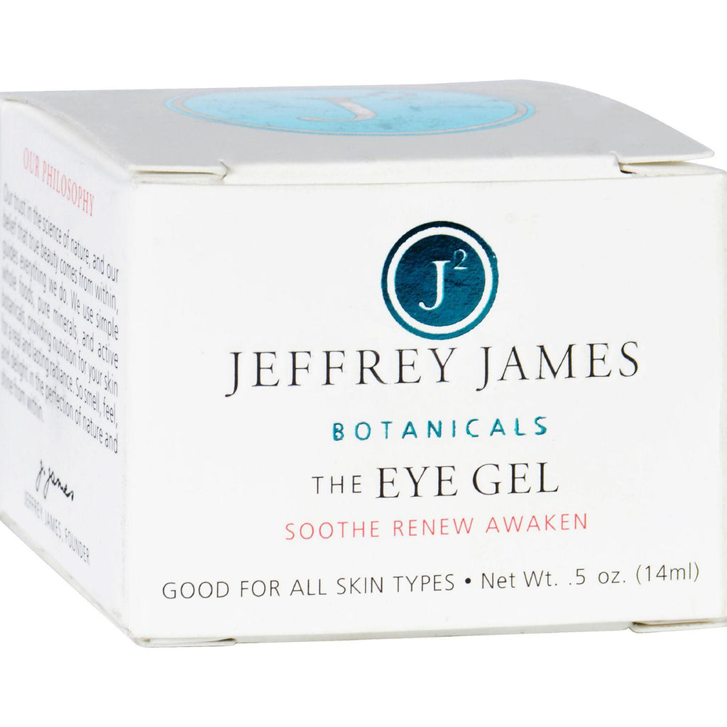 Jeffrey James Botanicals Eye Gel - The Eye Gel - Soothe Renew Awaken - .5 Oz-Jeffrey James Botanicals-pantryperks