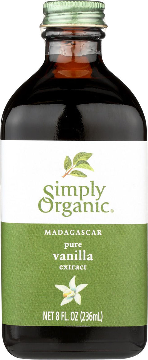 Simply Organic Pure Vanilla Extract - Case Of 6 - 8 Fl Oz.-Simply Organic-pantryperks