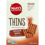 Marys Gone Crackers Crackers - Organic - Thins - Ancient Spice - 4.5 Oz - Case Of 6-Mary's Gone Crackers-pantryperks