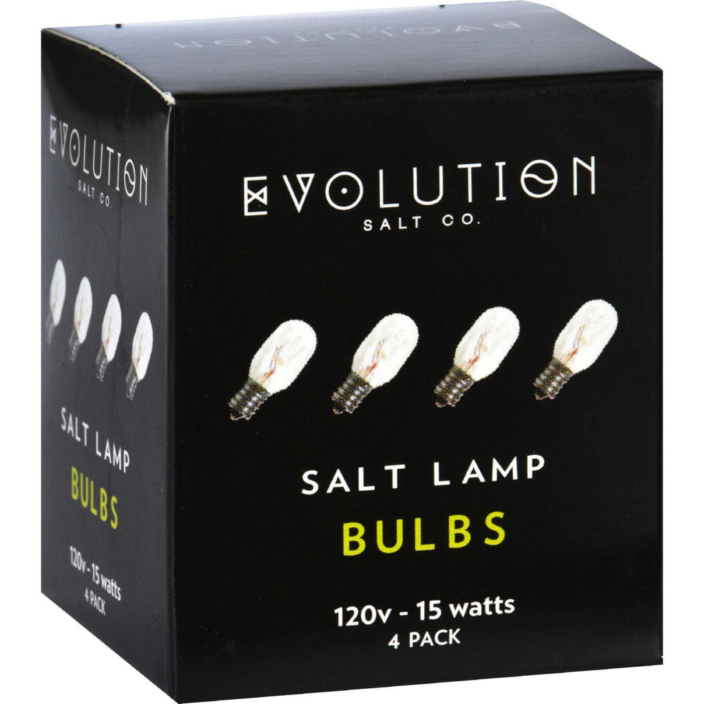 Evolution Salt Bulb - Clear - 15 Watt - Pack Of 4-Evolution Salt-pantryperks