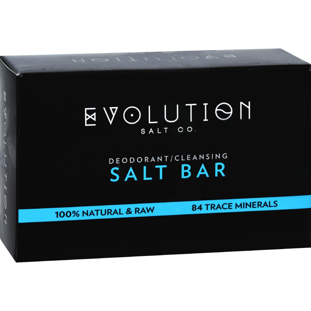 Evolution Salt Crystal Salt Bar - Deodorant Cleansing - 9 Oz-Evolution Salt-pantryperks