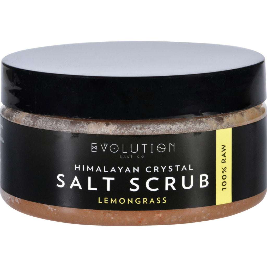 Evolution Salt Salt Scrub - Himalayan - Lemongrass - 12 Oz-Evolution Salt-pantryperks
