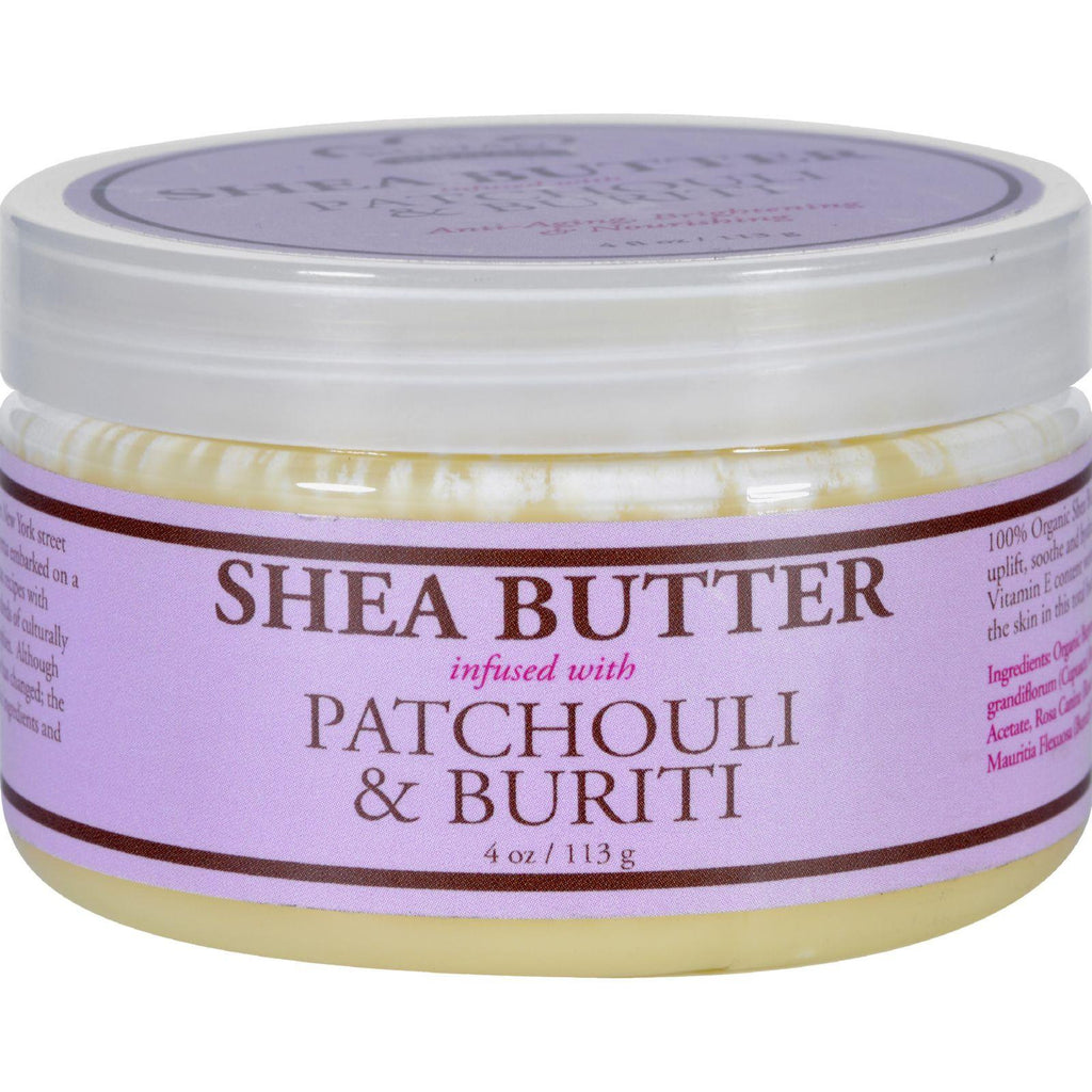 Nubian Heritage Shea Butter Infused with Patchouli & Buriti - 4 oz-Nubian Heritage-pantryperks