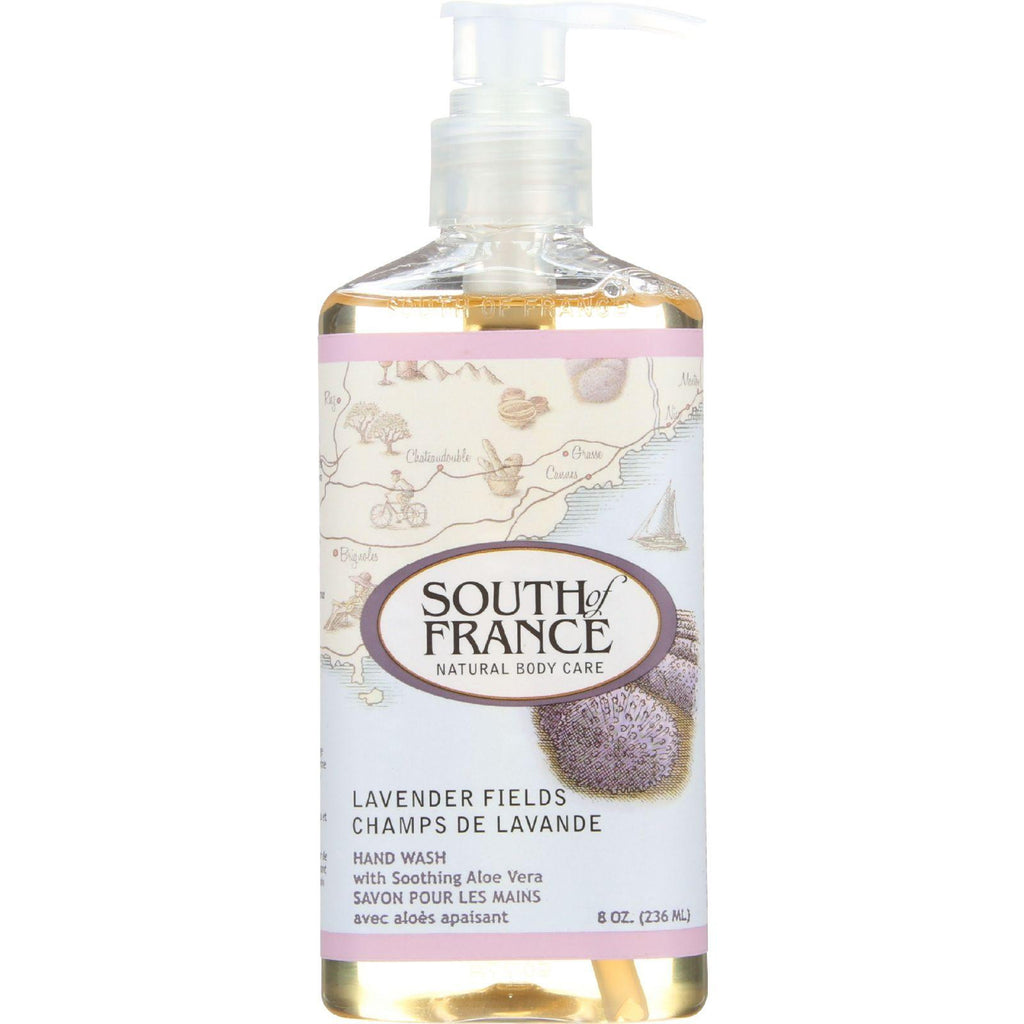 South of France Hand Wash Lavender Fields - 8 fl oz-South Of France-pantryperks