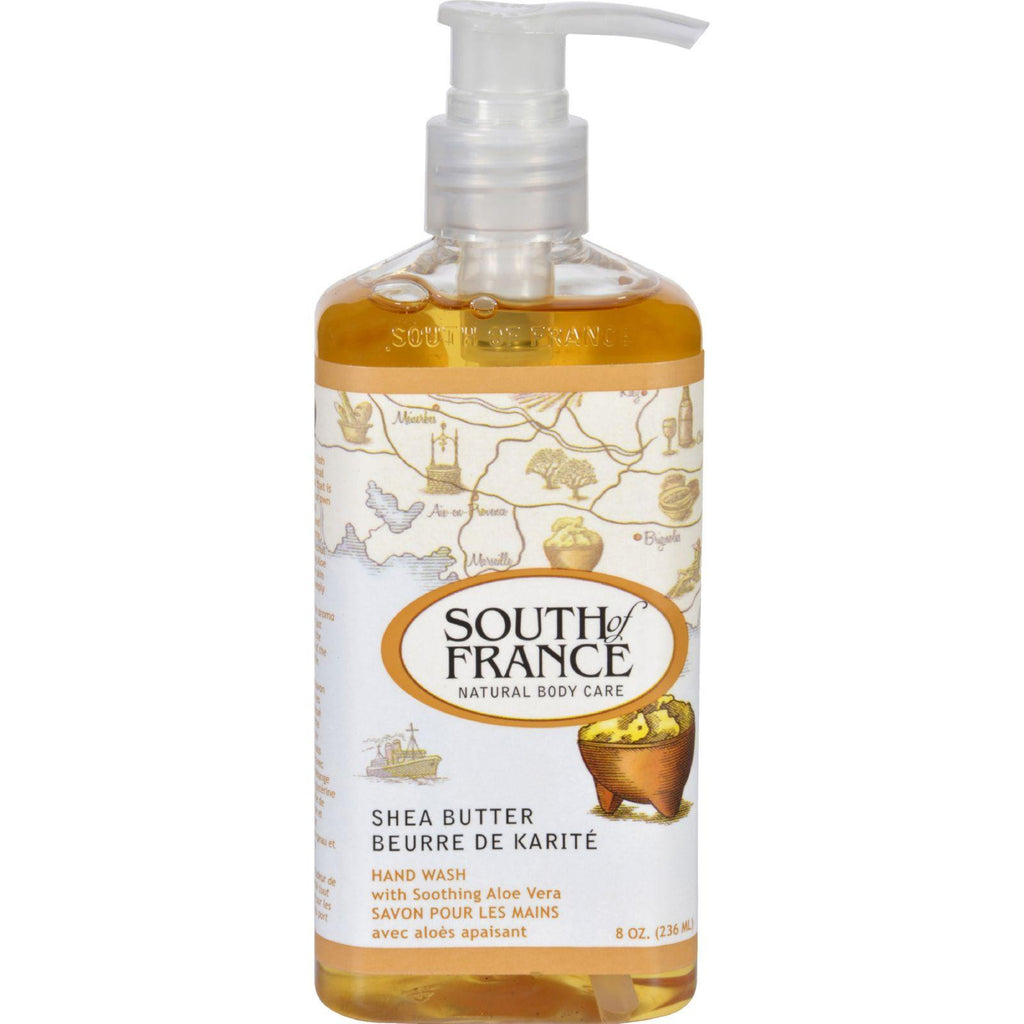 South of France Hand Wash Shea Butter - 8 fl oz-South Of France-pantryperks