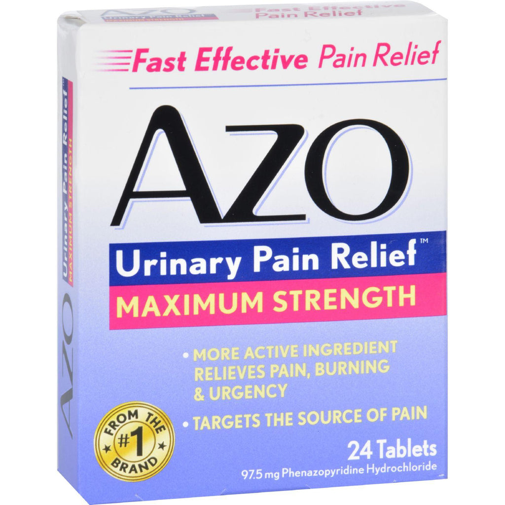 Azo Urinary Pain Relief - 24 Tablets-Azo-pantryperks