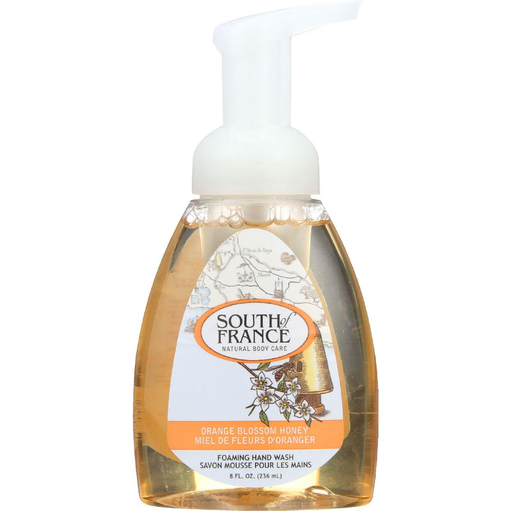 South Of France Hand Soap - Foaming - Orange Blossom Honey - 8 Oz - 1 Each-South Of France-pantryperks