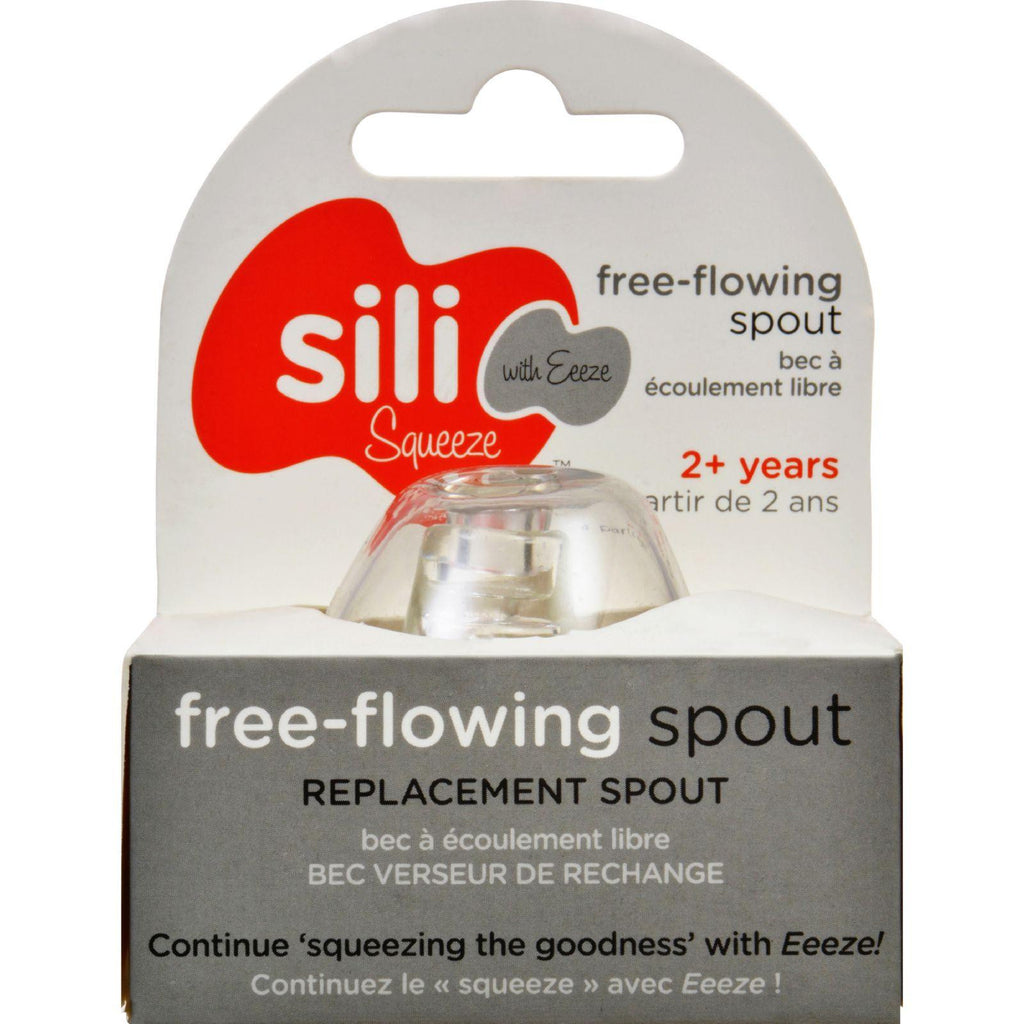 Sili Squeeze Nipple Spout - Replacement - Original With Eeeze - 1 Count-Sili Squeeze-pantryperks