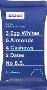 Rxbar Bar - Protein - Blueberry - 1.83 Oz - Case Of 12-Rxbar-pantryperks