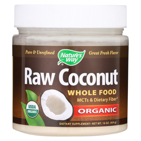 Nature's Way Organic Raw Coconut - 16 oz-Nature's Way-pantryperks
