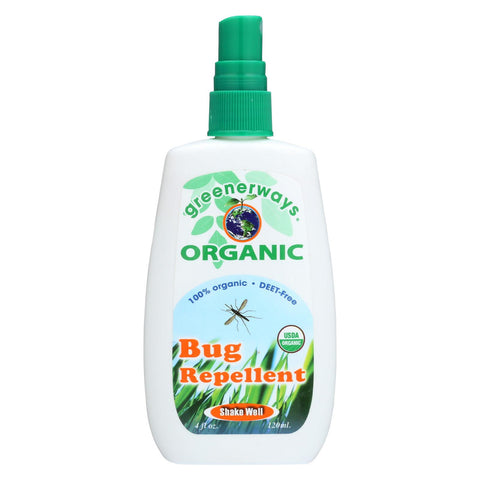 Greener Ways Organic Insect Repellent - 4 Fl Oz.-Greenerways Organic-pantryperks