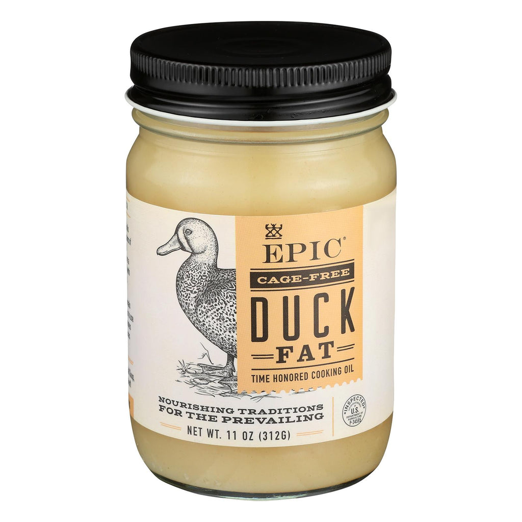 Epic Animal Oil - Duck Fat - Case Of 6 - 11 Oz.-Epic-pantryperks