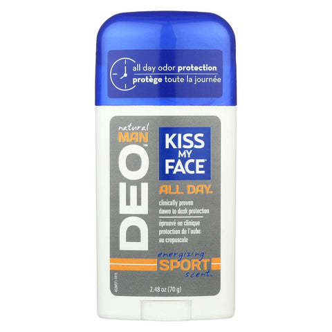 Kiss My Face Deodorant Aluminum Free Sport - Case Of 1 - 2.48 Oz.-Kiss My Face-pantryperks