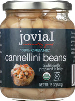 Jovial Organic Cannellini Beans - 13 oz-Jovial-pantryperks