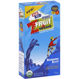 Clif Bar Organic Kid Zfruit Plus Veggie - Blueberry Blast - Case Of 6 - 0.7 Oz.-Clif Bar-pantryperks