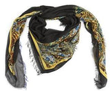 Yellow Fish in the Dark Modal Scarf
