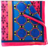 Forme Rose-Bleu Pocket Square