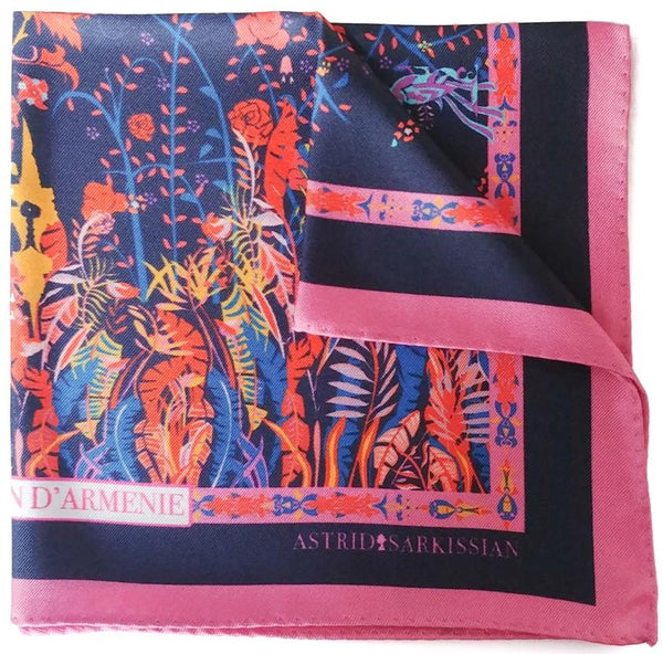 Jardin d'Armenie Men's Pocket Square