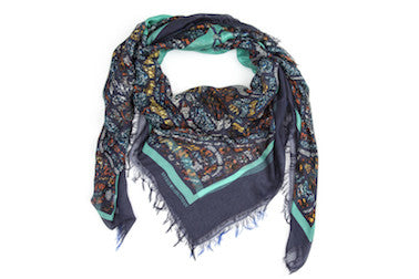 Mith Turquoise Modal Scarf