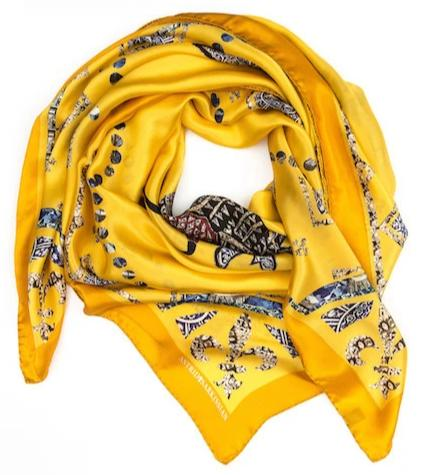 Yellow Modal Scarf