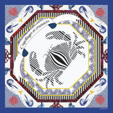Crabe Men's Pocket Square