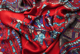 Le Chandelier Enterré Silk Satin Scarf