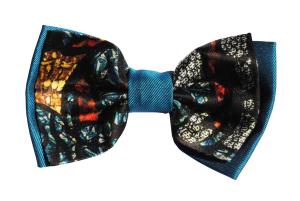 Mith Blue Bow Tie