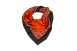 Vermin Red Silk Satin Scarf