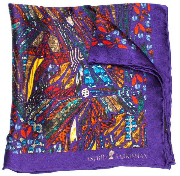 James Men's Pocket Square