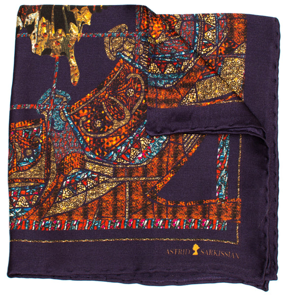 Papillon Men's Pocket Square