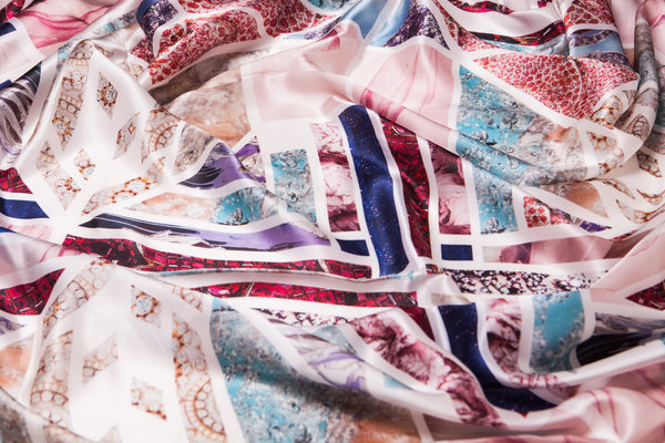Moisson  Silk Scarf