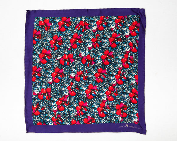 Cherries Men's Pocket Square