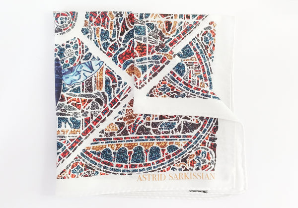 Mith White Men's Pocket Square