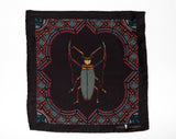 Vermin Black Pocket Square
