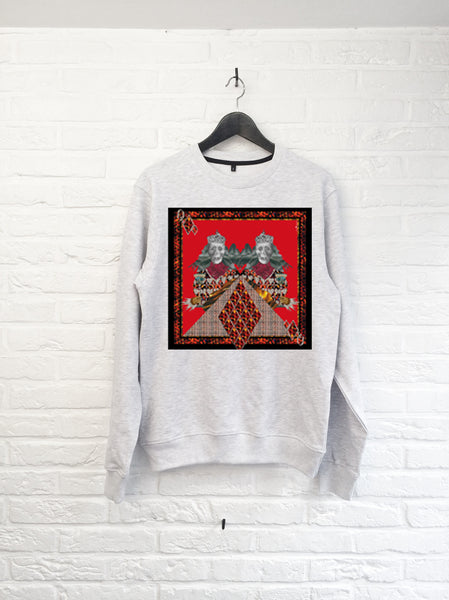 Calvaria Red Sweatshirt